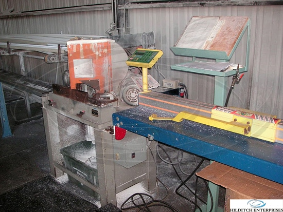 Sampson Model Mn14 Double Miter With Tiger Stop Hilditch