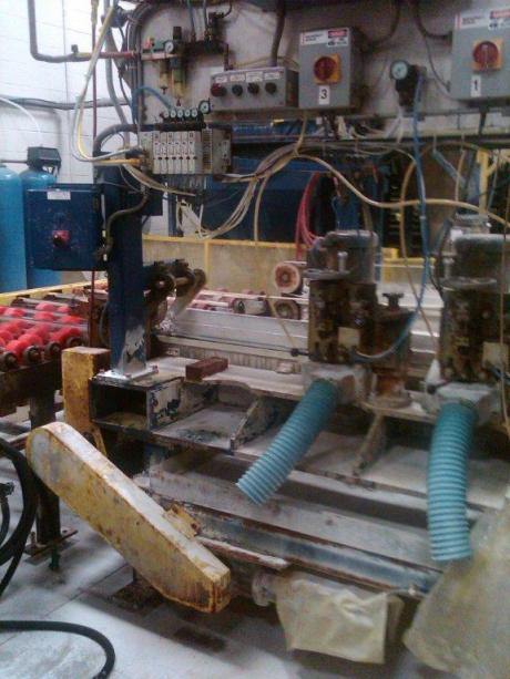 Glassline double edger & centrifuge | Hilditch Enterprises