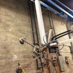 Bystronic pillar crane and easy - lift tilting lifter-1