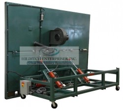 Hydraulic tilt glass cutting table-2wm